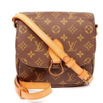 Louis Vuitton Saint Cloud Mm Brown Cross Body Bag 5711 (Authentic Pre-owned)