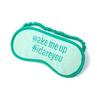 Wake Me Up Sleep Mask  | Claire's