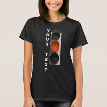 Traffic Light - Yellow black T-Shirt