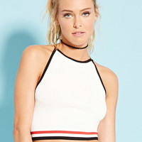 Colorblock Cropped Cami