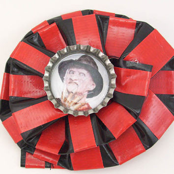 Freddy Krueger Duct Tape Hair Clip by PyrateWench on Etsy