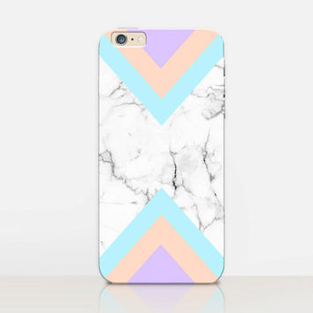 Colorful Marble Phone Case For-iPhone 6 Case-iPhone 5 Case - iPhone 4 Case - Samsung S4 Case - iPhone 5C - Tough Case - Matte Case - Samsung