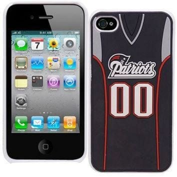 PEAPYD9 NFL New England Patriots Jersey Hard Iphone Case