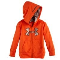 Under Armour Boys' Toddler UA Camo Big Logo Hoodie