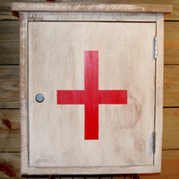 Reclaimed Wood Medicine Cabinet