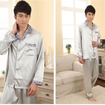 Hot Sale New Style Men's Leisure Wear Kimono Bath Robe Night Robe Gown Yukata L XL XXL 3XL