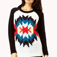 Out West Open-Knit Sweater | FOREVER 21 - 2000111219