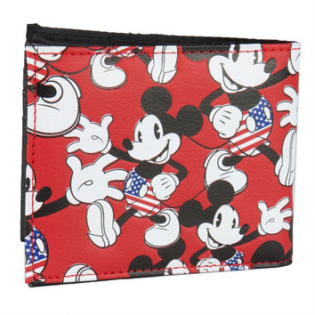 Mickey Mouse - Waving All-Over Bi-Fold Wallet