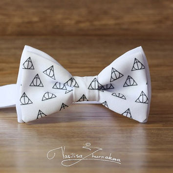 Harry Potter and the Deathly Hallows Bow tie - Bowtie