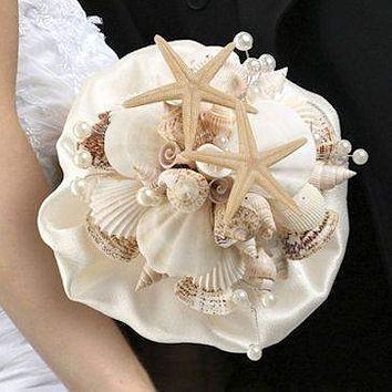 Sea Shell Bridal Bouquet