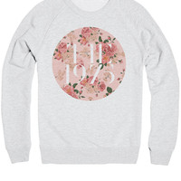 The 1975 Band Floral Logo T-Shirt - 1975 Indie Rock Music Shirt / Sweatshirt - Mens / Womens