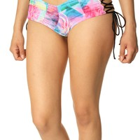 Fox Racing Women's Prism Lace Up Cheeky Bikini Bottom