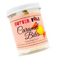 CARAMEL BITES Whipped Body Soap Fluff