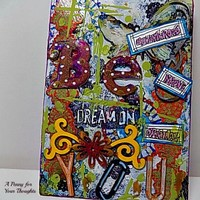 Be You Mixed Media Canvas Board. Listed and Ready to Ship