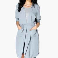 Isabella Longline Lightweight Trench