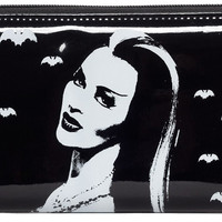 Lily Munster Black Pvc Bats Wallet