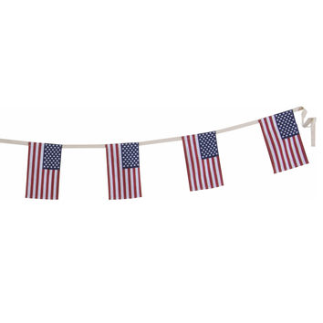 Large USA Flag Garland