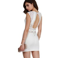 Sale-white Real Love Lace Dress