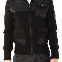 Division E Men's  Full Zip Long Sleeve Jacket with Detachable Hood