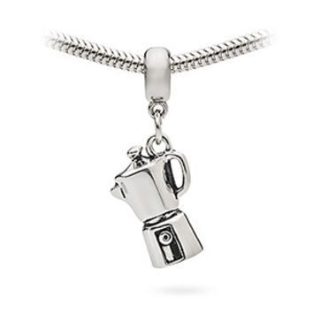 Espresso Maker Charm Bead - Exclusive