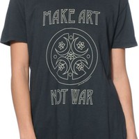 Obey Make Art Not War Emerald T-Shirt