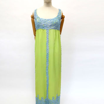 VINTAGE 1960s JEAN VARON DRESS 8 10