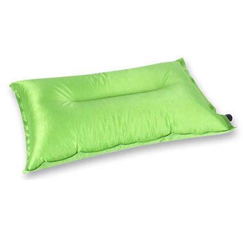 Automatic inflatable pillow outdoor camping  sleeping pillow beach pillow
