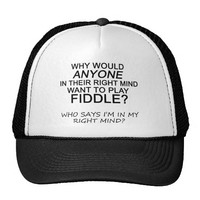 Right Mind Fiddle Trucker Hat