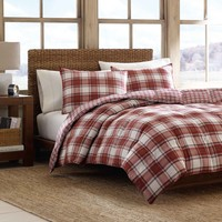 Eddie Bauer Edgewood Plaid Down Alternative Reversible 3-piece Comforter Set