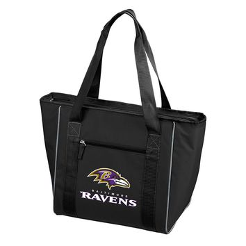 Baltimore Ravens NFL 30 Can Cooler Tote