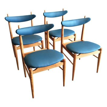 Pre-owned Danish Mid-Century Modern Dining Chairs