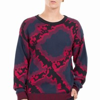 OPENING CEREMONY ABSTRACT JACQUARD CREWNECK - MEN - OPENING CEREMONY - OPENING CEREMONY