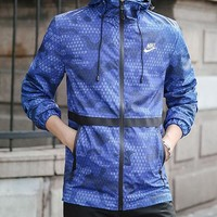 Trendsetter Nike Men Cardigan Jacket Coat Windbreaker