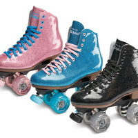 Sure-Grip Stardust Glitter Indoor/Outdoor Roller Skates