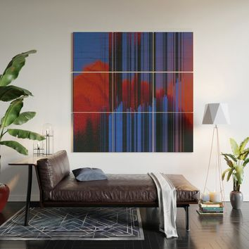 Sunset Melodic Wood Wall Art by duckyb