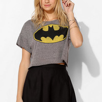 Junk Food Batman Triblend Cropped Tee - Urban Outfitters