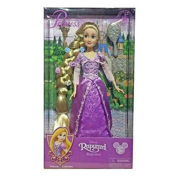 disney parks princess rapunzel with jeweled hair brush doll toy new with box