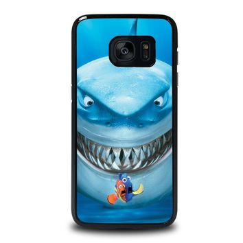finding nemo fish disney samsung galaxy s7 edge case cover  number 1