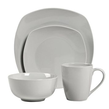 Tabletops Gallery Veneto 16-pc. Square Dinnerware Set