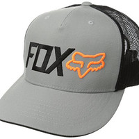Fox Men's Warmup Snapback Hat, Gray, One Size