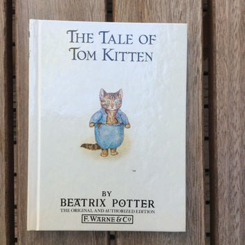 The Tale of Tom Kitten - Vintage Beatrix Potter Children's Book, 1987
