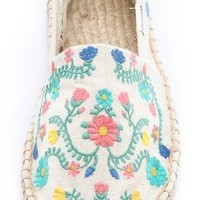 Soludos Traditional Embroidery Espadrilles | SHOPBOP