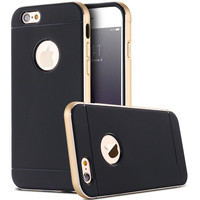 Dual Layer Hybrid Case For iphone 6 6s 4.7 Classic Double Color Metal Frame+TPU Cover For iphone 6s Plus 5.5 Mobile Phone Shell