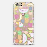 Fruit Punch Light (transparent) iPhone 6 case by Lisa Argyropoulos | Casetify