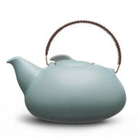 Provide - Collections - Kitchen & Dining by Heath Ceramics - Tea pot large in aqua