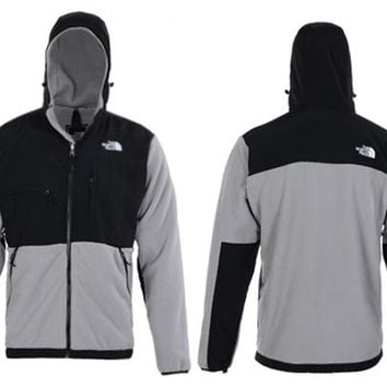 The North Face Men's Denali Fleece Jacket Grey
