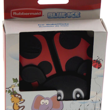 Rubbermaid Blue Ice Reusable Pack Black & Red Ladybug Set of 2