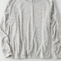 AEO Women's Don't Ask Why Long Sleeve T-shirt
