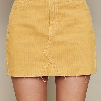 PacSun Corduroy 5-Pocket Skirt at PacSun.com