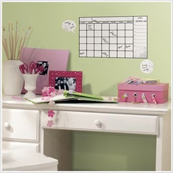 Cheap Dorm Room Essentials - Dry Erase - Peel n Stick Calendar